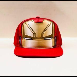 Men's iron man SnapBack hat